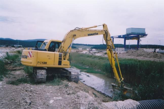 Manutenzione di opere fluviali